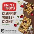Muesli Bar Cranberry Vanilla & Coconut
