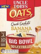 Quick Sachets Big Bowl Banana and Honey