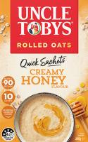 Uncle Tobys Quick Sachets Creamy Honey