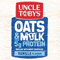 Uncle Tobys Kids Oats & Milk Muesli Bars