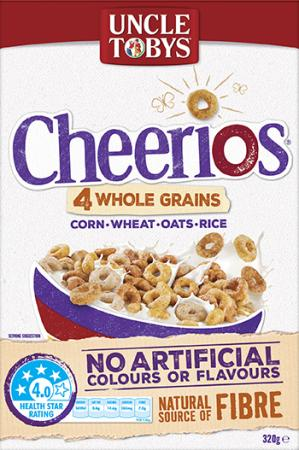 Uncle Tobys Cheerios Wholegrain