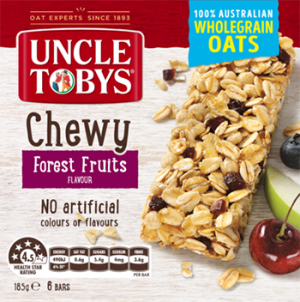 Uncle Tobys Muesli Bar Chewy Forest Fruits