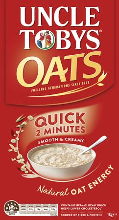 Uncle Tobys Quick Oats