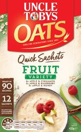 Quick Sachets Fruit Variety Pack