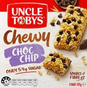 Muesli Bar Chewy Choc Chip