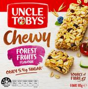 Muesli Bar Chewy Forest Fruits