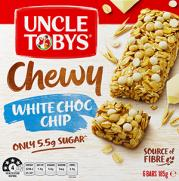 Muesli Bar Chewy White Choc Chip